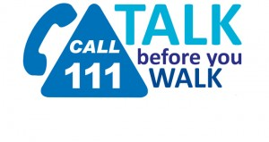 111 talk before you walk