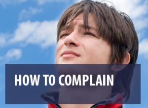 How to make a complaint