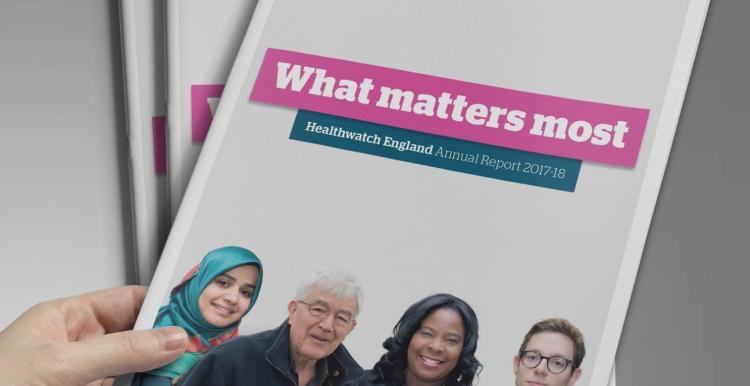 Healthwatch England Annual Report