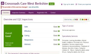 Crossroads Care West Berkshire