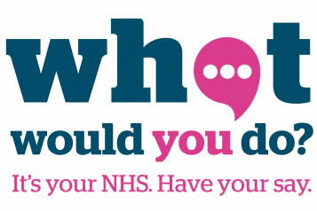 Have your say about the NHS