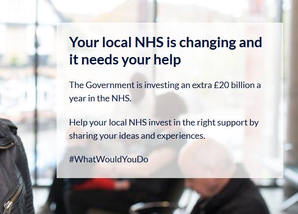 Would would you do to improve NHS