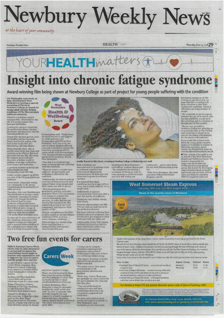 Insight into Chronic fatigue syndrome