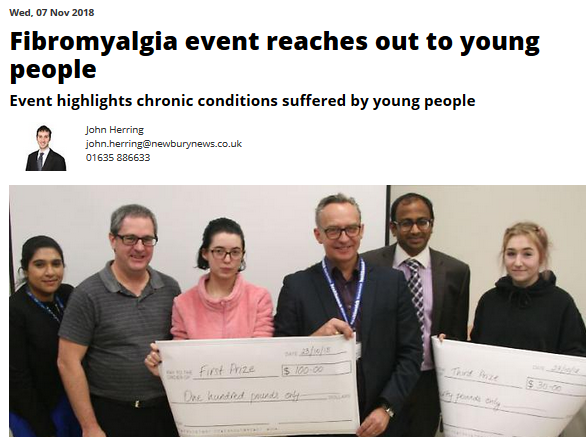 Fibromyalgia event reaches out to young people