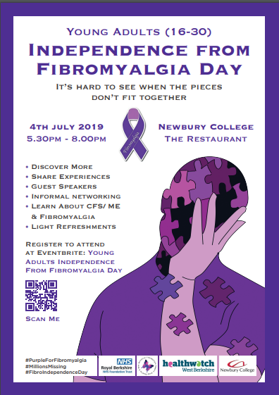 Independence from Fibromyalgia Day Poster