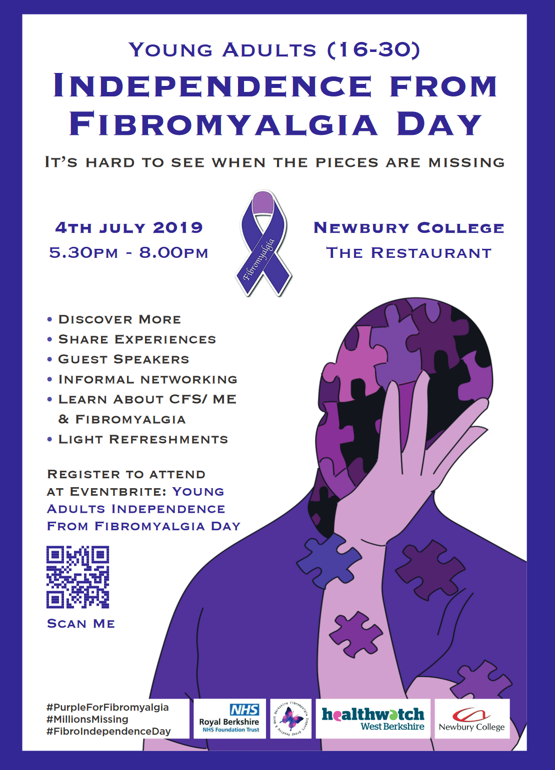 Independence from Fibromyalgia day event