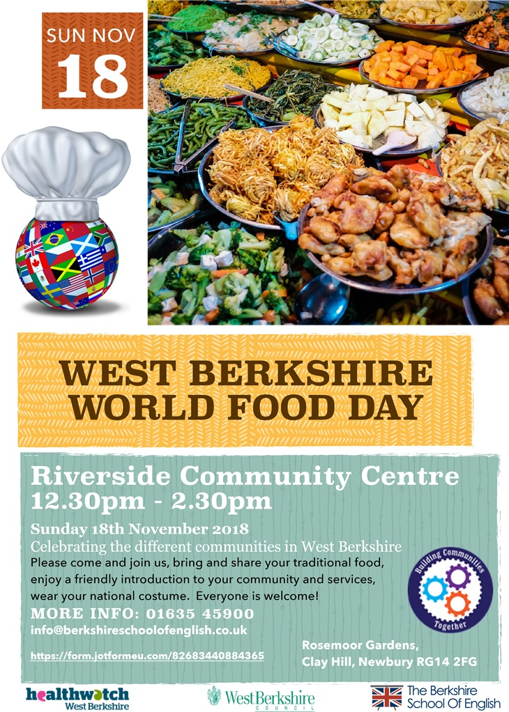 West Berkshire World Food Day Poster